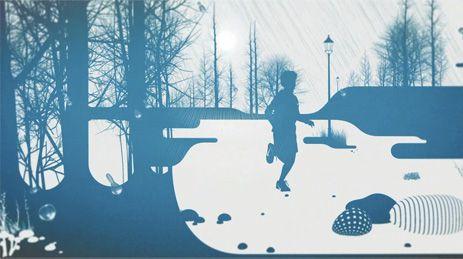 Pioggia, neve e vento. Nike by Nando Costa