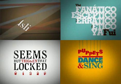La tipografia nella videografica
