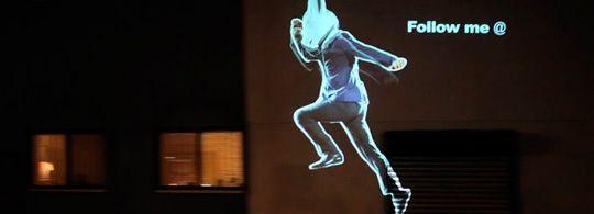 Syfy Channel: Alice Rabbit Running