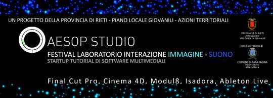 Festival laboratorio di interazione immagine suono
